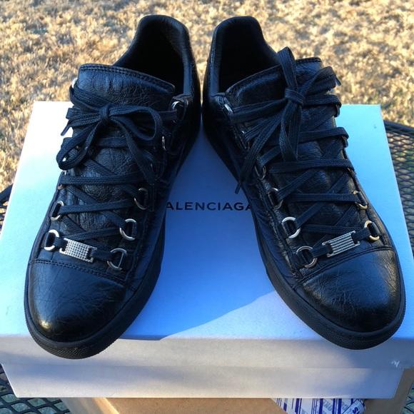 Balenciaga Shoes - Women s Noir Balenciaga Arenas. Size 38. cc71f623e